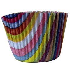 Forma papel Cupcake Arco iris c/45 unids (consultar disponibilidade antes da compra)
