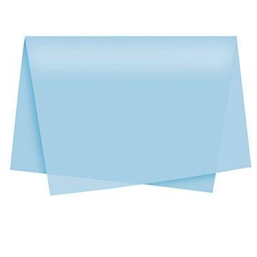 Papel Seda Azul Claro c/ 100 unids