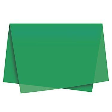 Papel Seda Verde c/ 100 unids