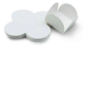 Forma Papel Cartão Petalas Branca c/50 unids(consultar disponibilidade antes da compra)