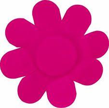 Forma Papel Cartão Flor Pink c/50 unids (consultar disponibilidade antes da compra)
