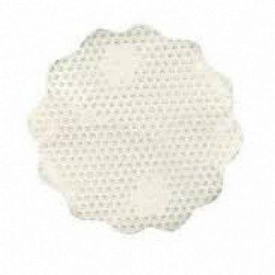 Fundo rendado celofane (Bopp) 9cm branco c/100 unids
