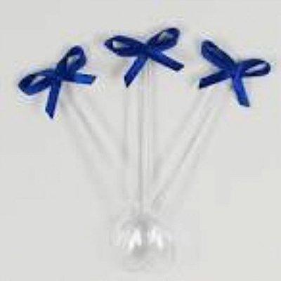Mini colher laço azul escuro 20 unids (consultar disponibilidade antes da compra)