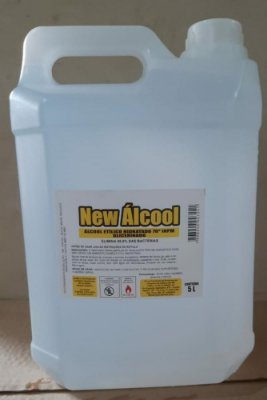 Álcool Liquido 70% Galão 5lts
