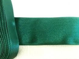 Fita Cetim nº01 Verde EScuro (7mm) 10mts unid (consultar disponibilidade na loja)