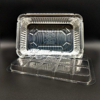 Marmitex aluminio 0750ml Wyda (D7fs) Tampa pet 50 unids