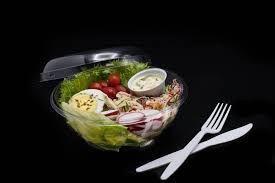Saladeira Pote Multi Uso 500ml com tampa (G681) 10 unids