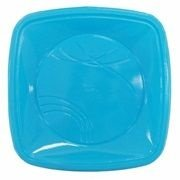 Prato Plastico 15x15 Azul Claro Trik Trik 10 unids (consultar disponibilidade antes da compra)