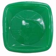 Prato Plastico 15x15 Verde Escuro Trik Trik 10 unid (consultar disponibilidade antes da compra)