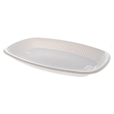 Travessa Plastica Media Branca Trik Trik 10 unids (consultar disponibilidade antes da compra)