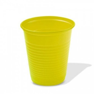 Copo Descartavel 200ML Amarelo Trik Trik 50 unids  (consultar disponibilidade antes da compra)