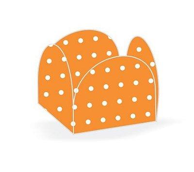 Forma Papel Cartão Petalas Poá Laranja c/50 unids (consultar disponibilidade antes da compra)