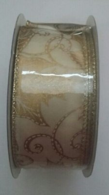 Fital Natal (Folhas Ouro) 38mmx10mts