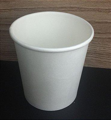 Copo Papel 110ml Branco Simples 210grs 50 UNIDS