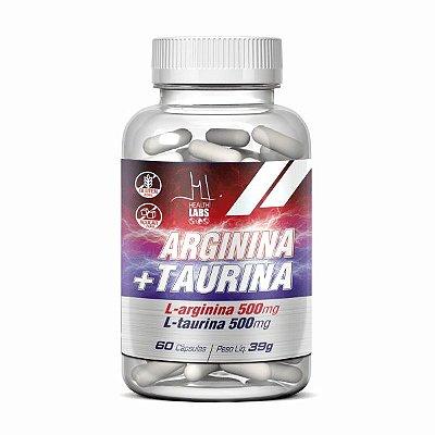 Arginina + Taurina - 60cap