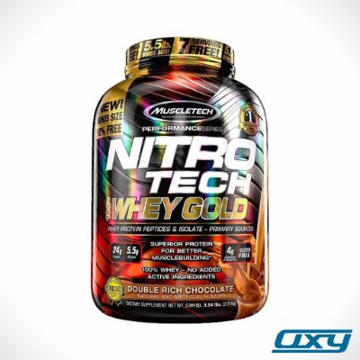 Nitrotech Whey Gold 2,51kg