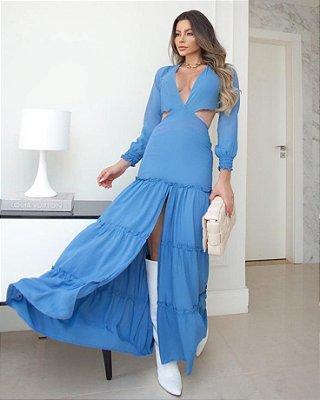 Vestido Vazado