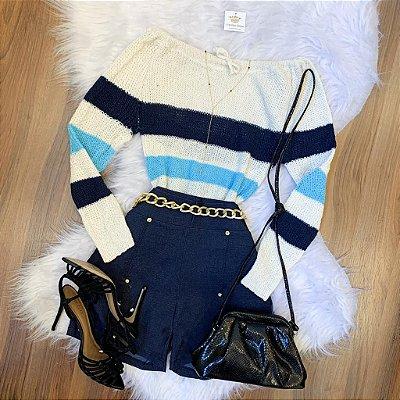 Blusa Tricot Ciganinha