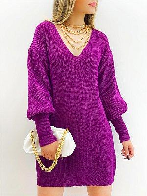 Vestido Tricot (Diversas Cores)