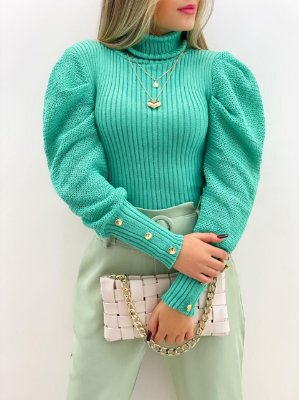 Blusa Tricot Princesa (Diversas Cores)