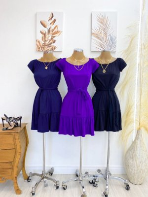 Vestido Ciganinha (Diversas Cores)