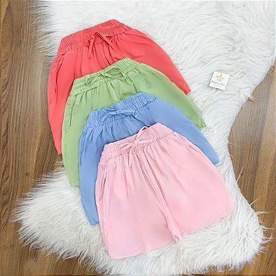 Shorts Básico Viscose ( Diversas cores )