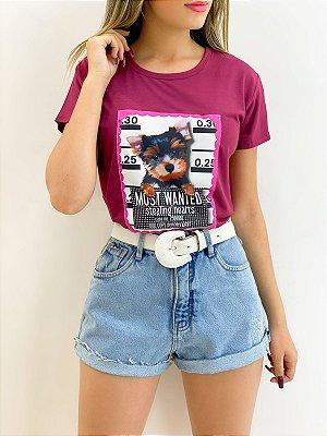 T-Shirt Estampada (Diversas Cores)