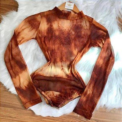 Body Tule Tie Dye