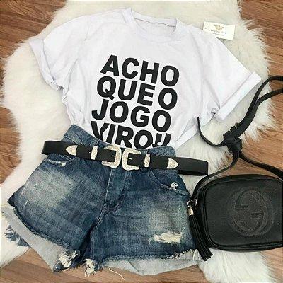 Camiseta Jogo Virou