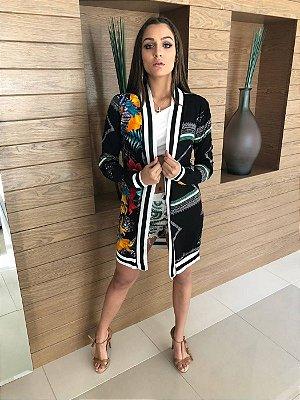 Kimono Sahara Malha Crepe