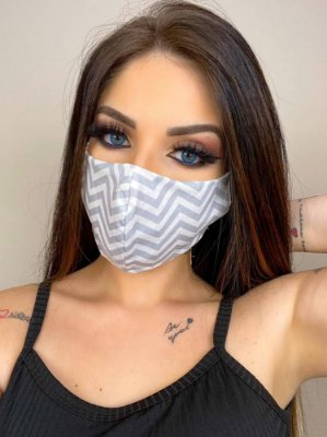 Máscara Reutilizável Protetora 2