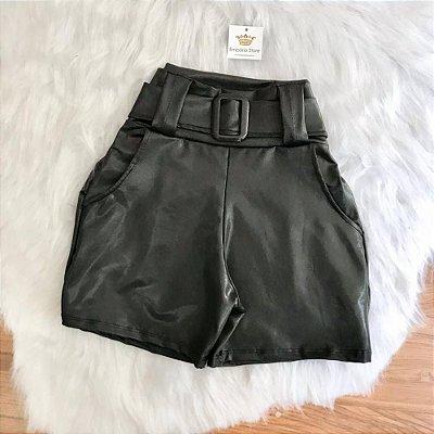 Shorts Cinto Cirré