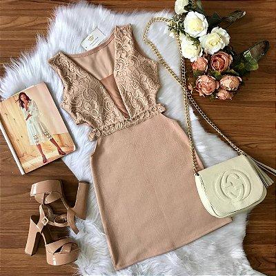 Vestido Renate Renda