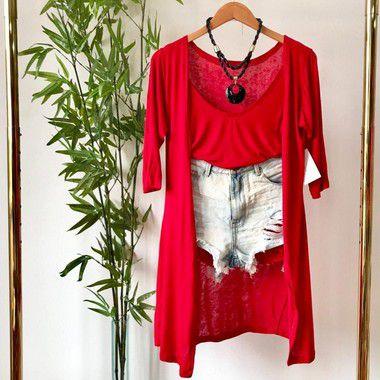 Kimono + Regata Jeise (Diversas Cores)