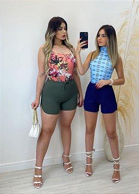 Shorts Lohane Canelado