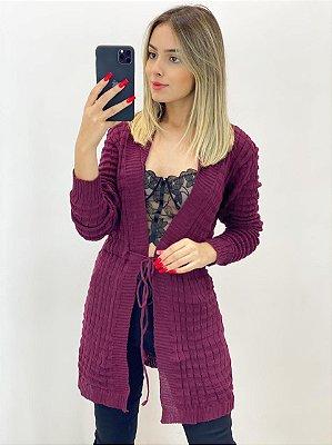 Kimono Tricot Lãzinha (Diversas Cores)