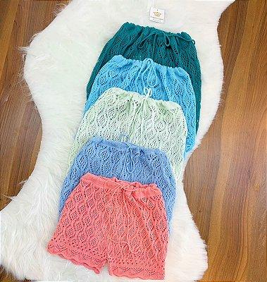 Shorts Saída Tricot