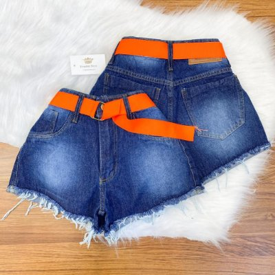 Shorts Jeans c/ Cinto