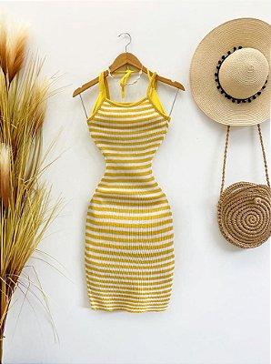 Vestido Saída Tricot