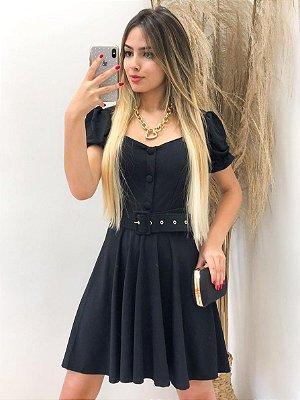 Vestido Princesa c/ Cinto