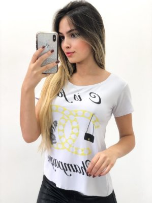 T-Shirt Viscomalha