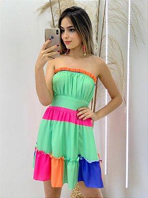 Vestido Viscose