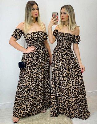 Vestido Ciganinha Viscose