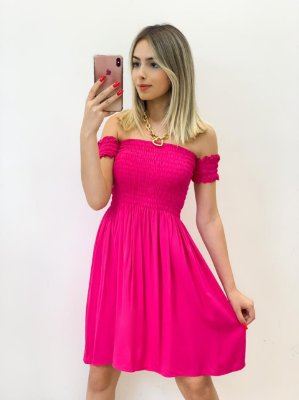 Vestido Ciganinha Viscose (Diversas Cores)