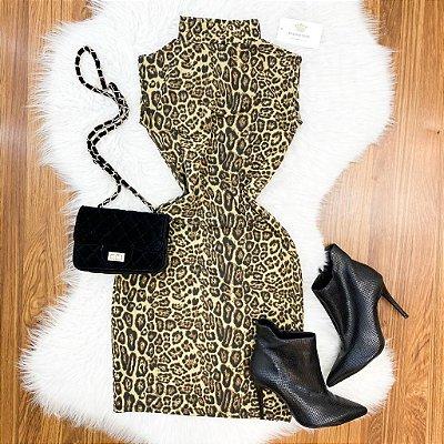 Vestido Onça Golinha