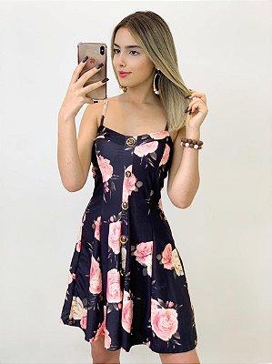 Vestido Estampado Suplex