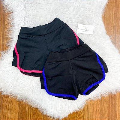 Shorts Listrado Suplex (Diversas Cores)