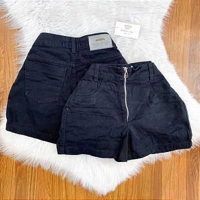 Shorts Zíper Jeans