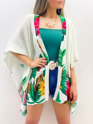 Kimono Estampado Viscose (Diversas Cores)