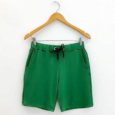 Shorts Básico Verde Bandeira